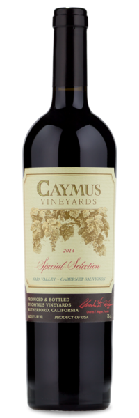 2014 Caymus Special Selection - Winery Front Label