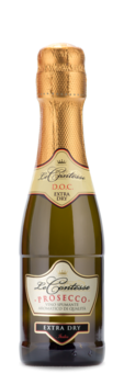 Le Contesse Prosecco Mini Bottle - Winery Front Label