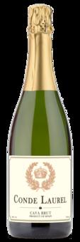 Conde Laurel Cava Brut NV - Winery Front Label
