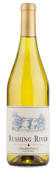 2013 Rushing River California Chardonnay - Winery Front Label
