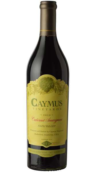 2014 Caymus Cabernet Sauvignon - Winery Front Label