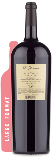 2015 The Prisoner Napa Valley Magnum - Winery Back