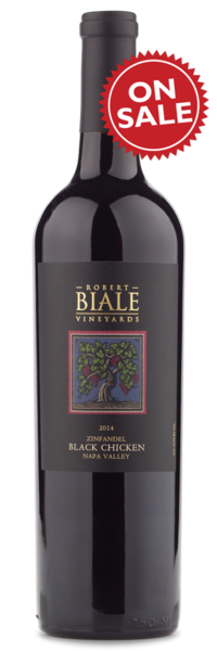 Biale Black Chicken Zinfandel 2014 - Winery Front Label