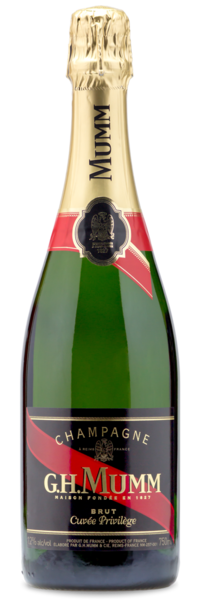 G.H. Mumm Brut Champagne Wine Bundle - Winery Front Label