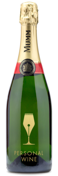 G.H. Mumm Brut Champagne Wine Bundle - Engraving