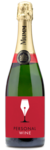 G.H. Mumm Brut Champagne Wine Bundle - Label