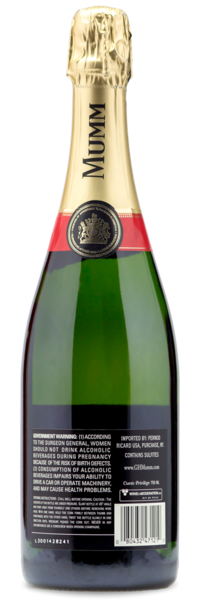 G.H. Mumm Brut Champagne Wine Bundle - Winery Back