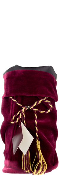 Burgundy Velvet Wine Bag
