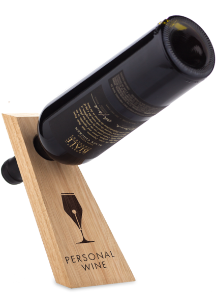 Wine Bottle Balance - With Bottle