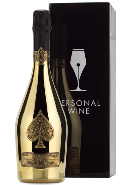 Armand De Brignac Bottle and Box - Engraved