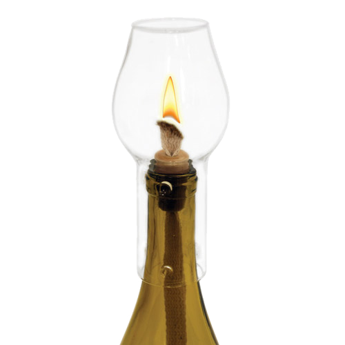 Hurricane Bottle Lamp