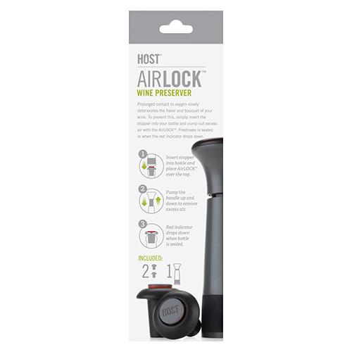AirLOCK Wine Preserver - Box Back