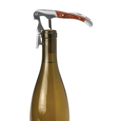 Spruce Double-Hinged Corkscrew - In Use