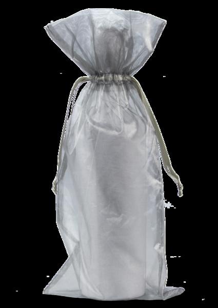 Organza Tassel Wine Bottle Bag also for Candle
