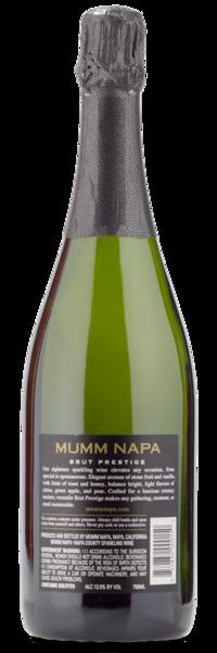 Mumm Napa Brut Prestige Sparkling Wine - Winery