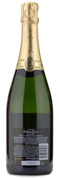 Perrier Jouet Grand Brut Champagne - Winery Back