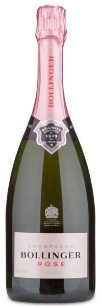 Bollinger Rosé - Winery Front Label