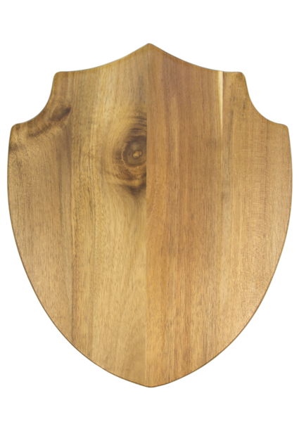 Acacia Wood Shield Cheese Board