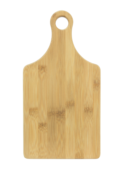 Cutting Board w/Handle - Bamboo