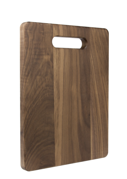 Cutting Board - Walnut Angled View