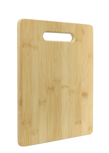 Cutting Board - Bamboo Angled View