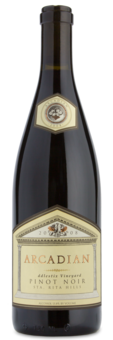 Arcadian Fiddlestix Pinot Noir - Winery Front Label