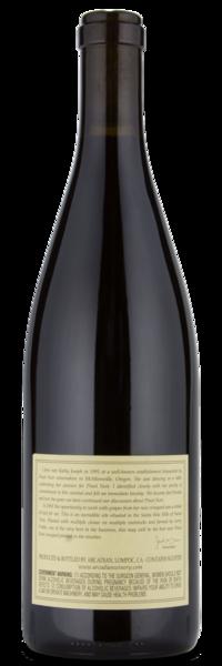 Arcadian Fiddlestix Pinot Noir - Winery Back Label