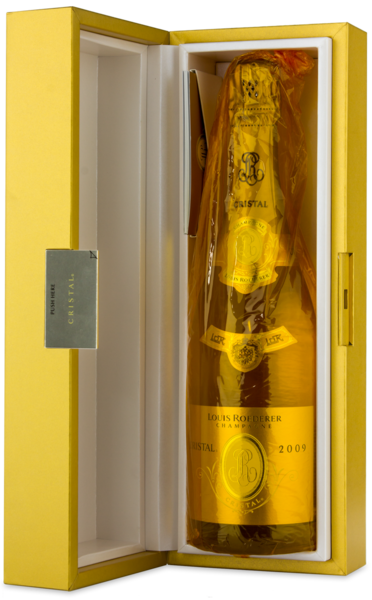 Louis Roederer Cristal - Box Open