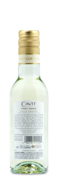 Cavit Collection Pinot Grigio - Winery Back