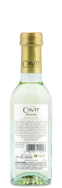 Cavit Collection Riesling - Winery Back