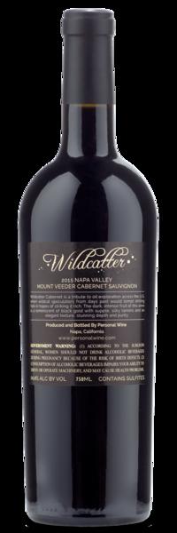 2015 Wildcatter Mt. Veeder Cabernet (Mayacamas) - Winery Back