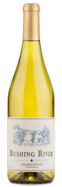 2016 Rushing River California Chardonnay - Winery Front Label