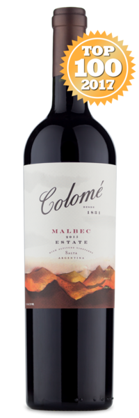 2015 Colomé Estate Malbec - Winery Front Label