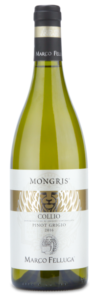 "2016 Marco Felluga ""Mongris"" Pinot Grigio - Winery Front Label"