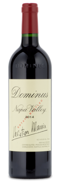2014 Dominus Estate Napa Valley Red - Winery Front Label