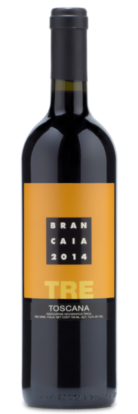 Casa Brancaia TRE 2014, IGT Rosso Toscana - Winery Front Label