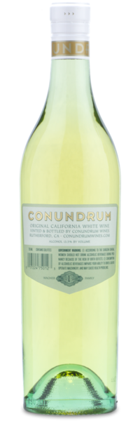 2015 Conundrum White - Winery Back Label