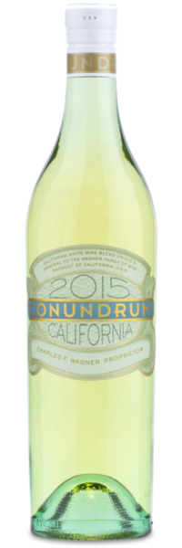 2015 Conundrum White - Winery Front Label