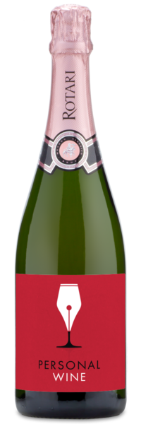 Rotari Rosé NV - Labeled