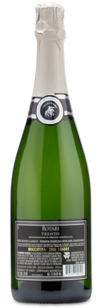 Rotari Prosecco Brut NV - Winery Back Label
