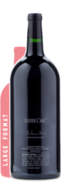 2012 Silver Oak Napa Valley Cabernet Sauvignon | 3L - Winery Back Label