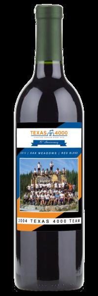 2004 Texas 4000 Team