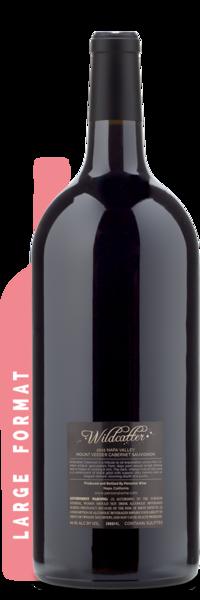 2015 Wildcatter Mt. Veeder Cabernet Double Magnum | 3L - Winery Back Label