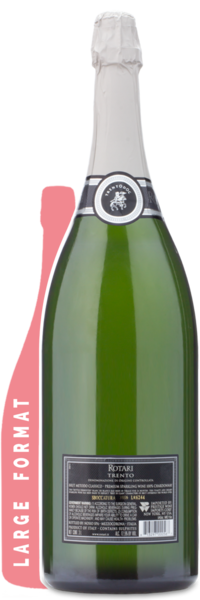 Rotari Prosecco Brut Double Magnum | 3L - WInery Back Label
