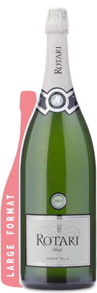 Rotari Prosecco Brut Double Magnum | 3L - Winery Front Label