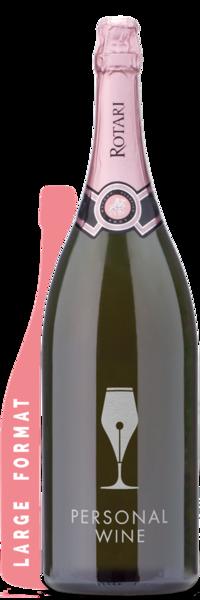 Rotari Rosé Double Magnum | 3L - Engraved