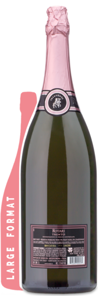 Rotari Rosé Double Magnum | 3L - Winery Back Label