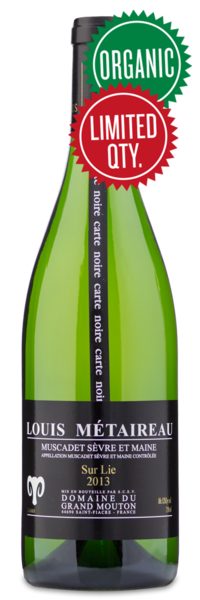 Grand Mouton Muscadet - Winery Front Label