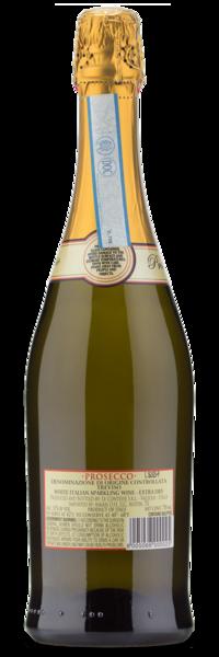 Le Contesse Prosecco Treviso - Winery Back Label
