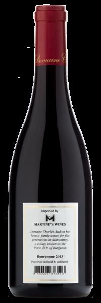2013 Domaine Charles Audoin Bourgogne Pinot Noir - Winery Back